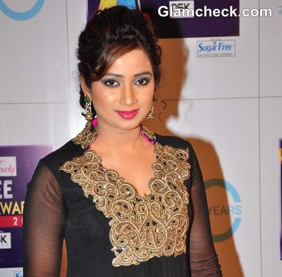 Shreya Ghoshal 2013 Zee Cine Awards