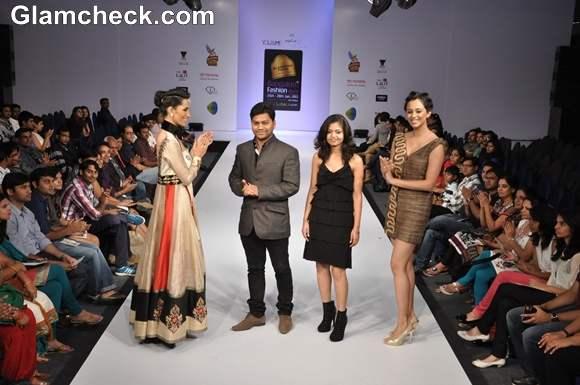Shweta Shill Pankaj Kumar at Bangalore Fashion Week Summer Showers 2013