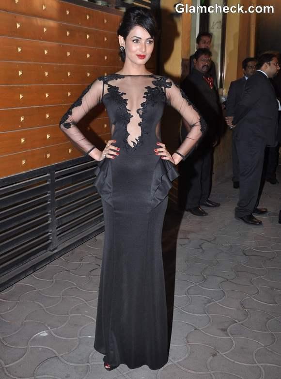Sonal Chauhan Filmfare Awards 2013