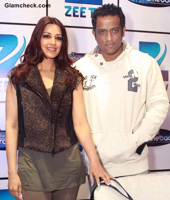 Sonali Bendre Anurag Basu at  Kids Reality Show Indias Best Dramebaaz