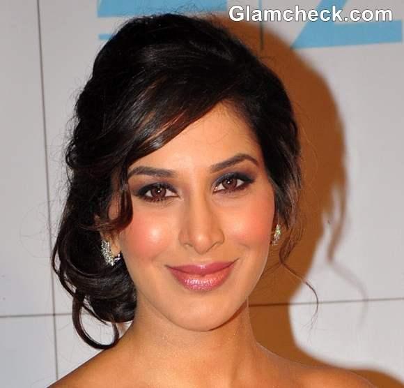 Sophie Choudhary 2013 hairstyle makeup