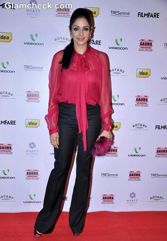 Sridevi 2013 Idea Filmfare Awards Nominations