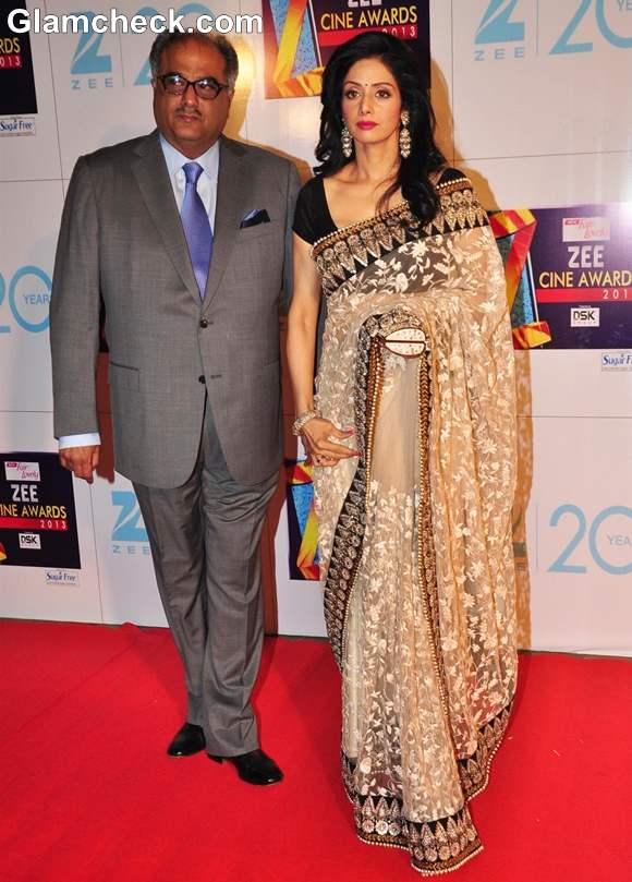 Sridevi At Zee Cine Awards 2013