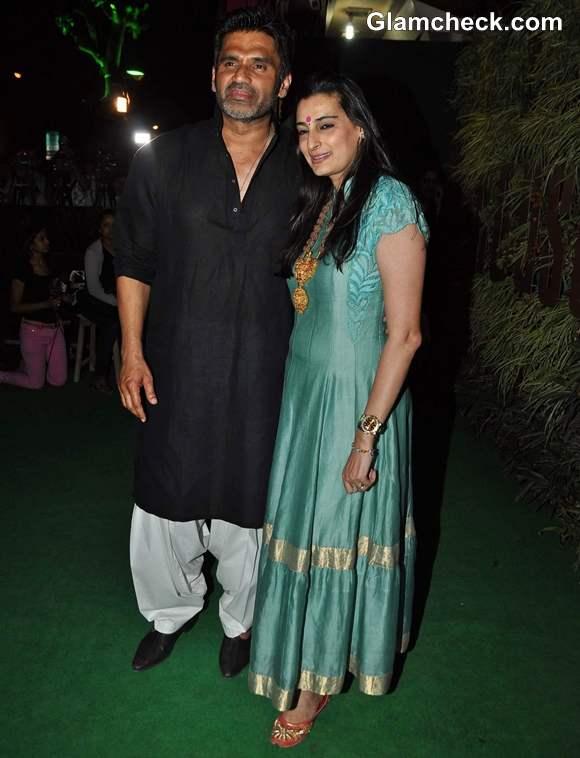 Sunil Shetty R House Store Launch in Worli Mumbai