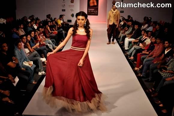 Susanta Soumik collection Bangalore Fashion Week Summer Showers 2013