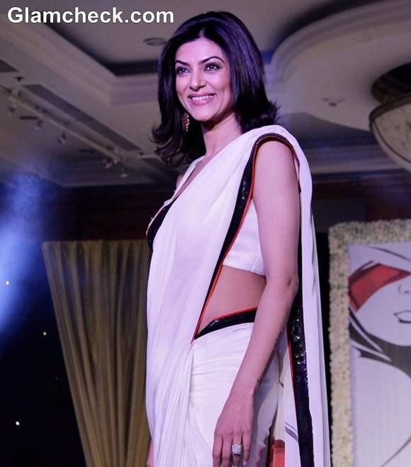 Sushmita Sen At Anu Ranjans Beti Movement Fashion Fundraiser