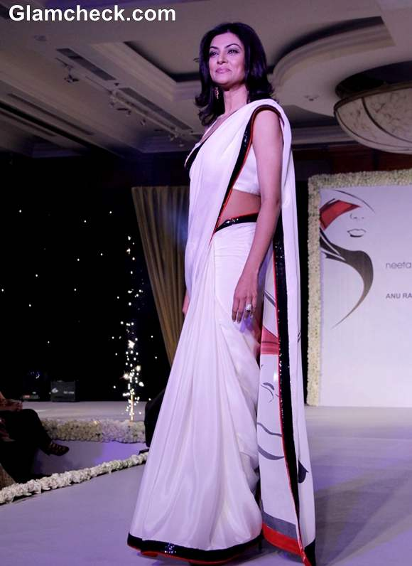 Sushmita Sen ramp  Beti Movement Fashion Fundraiser