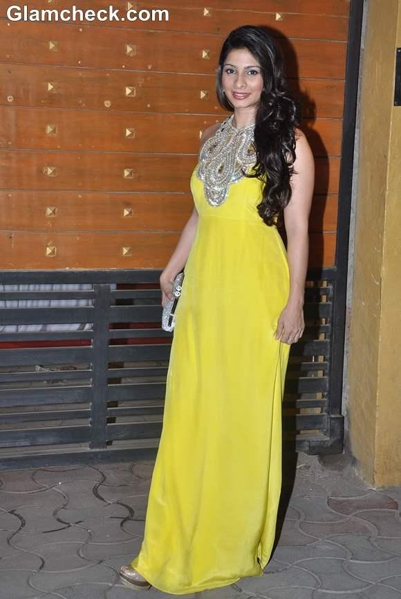Tanisha Mukherjee Filmfare Awards 2013