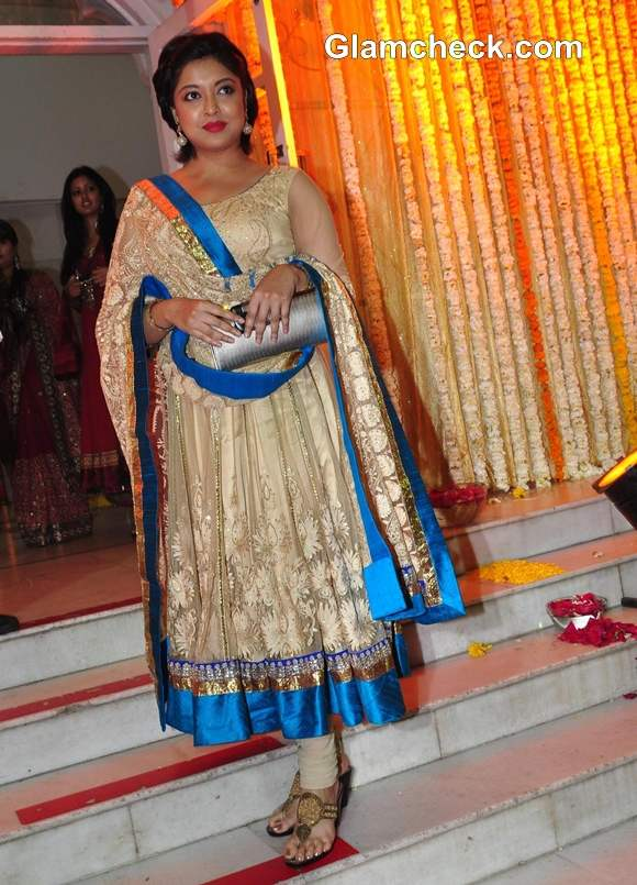 Tanushree Dutta at Mohit Suri Udita Goswami wedding