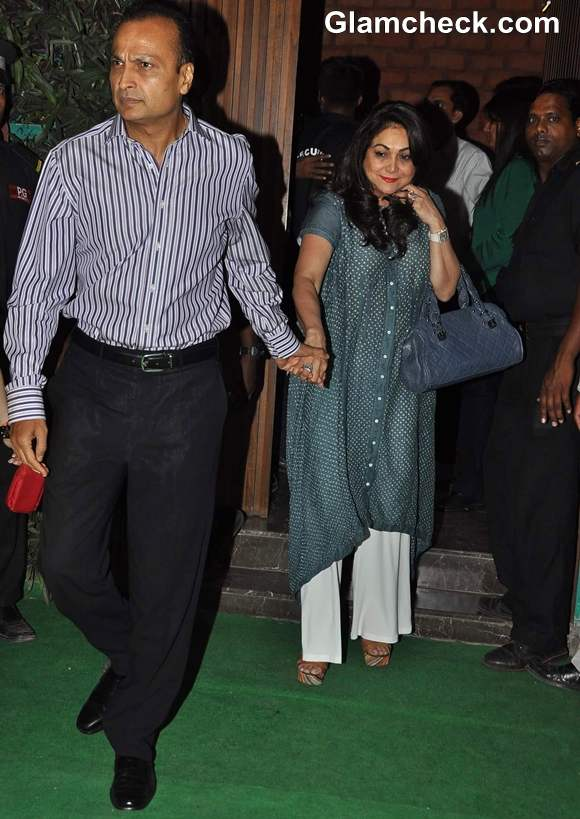Tina ambani at Sunil Shetty R House Store Launch in Worli Mumbai