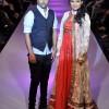 Umesh Joshi with Deepika Kamaiah Bangalore Fashion Week Summer Showers 2013