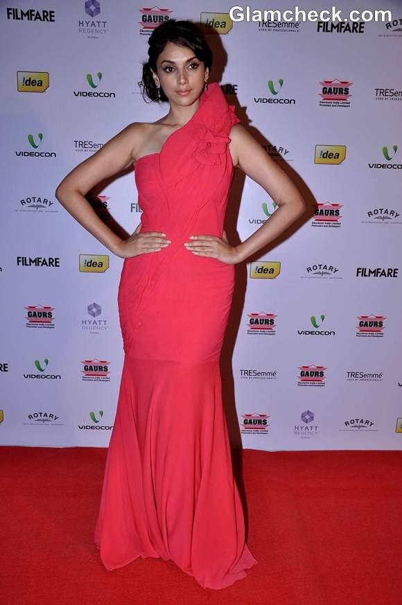 aditi rao hydari 2013 at 58th Idea Filmfare Awards Nominations