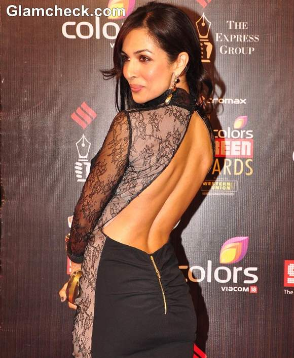 Image result for malaika arora backless dress photo