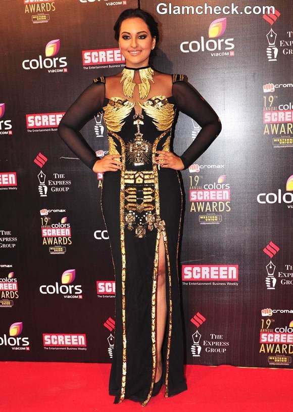 sonakshi sinha 2013 Colors Screen Awards