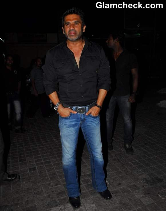 sunil shetty at Film Screening Balak Palak