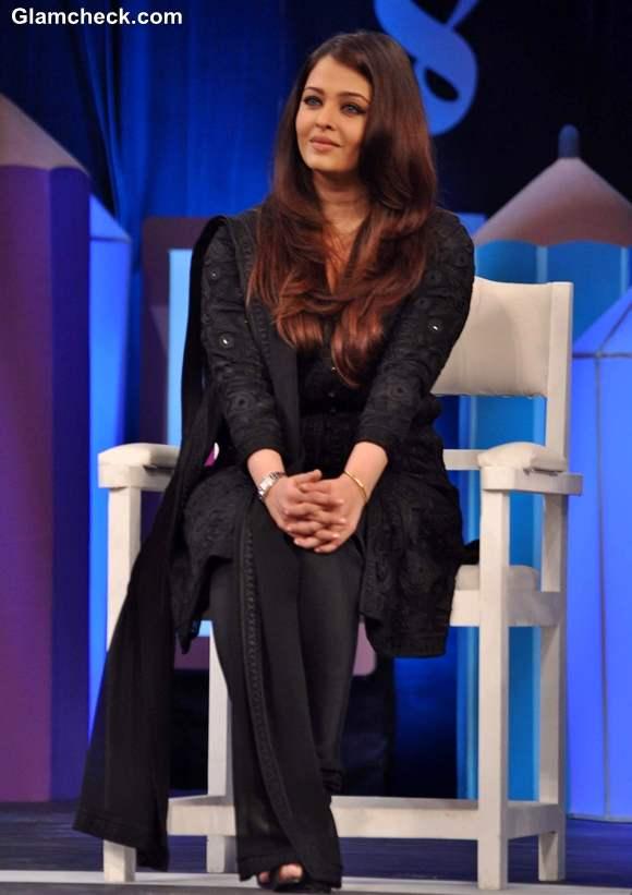 Aishwarya Rai Bachchan 2013 NDTV Coca Cola Support My School Telethon
