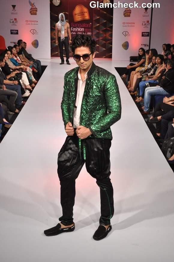Akhilesh Pahwa bangalore fashion week summer showers 2013