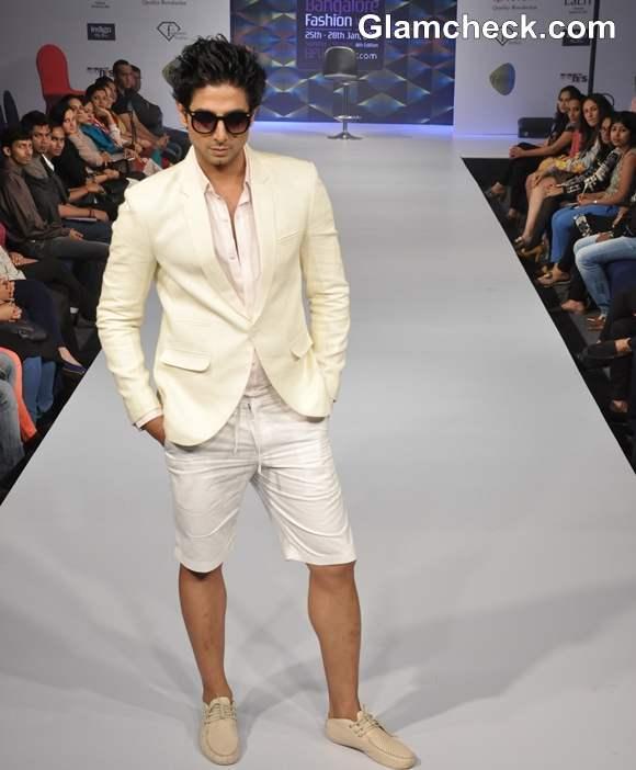 Akhilesh Pahwa collection bangalore fashion week summer showers 2013
