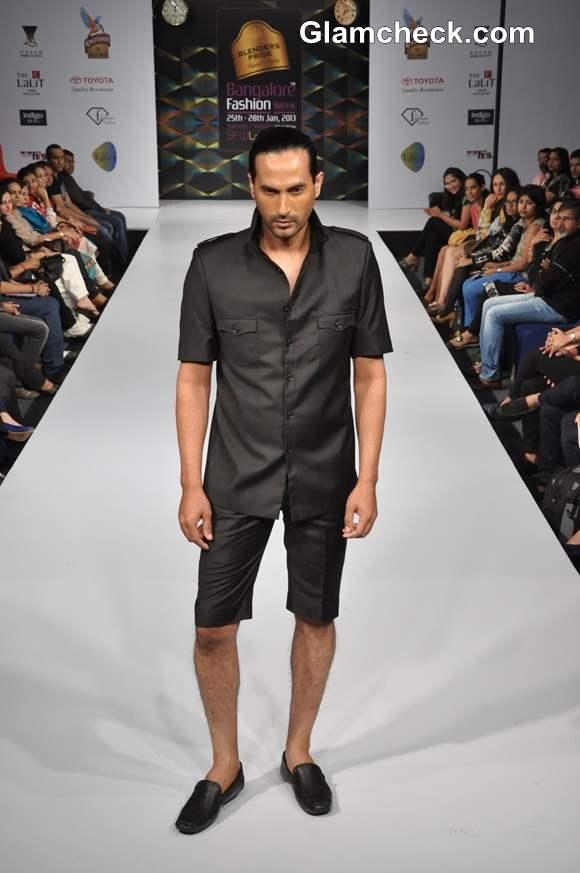 Akhilesh Pahwa show bangalore fashion week summer showers 2013