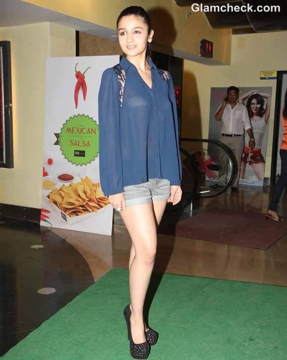 Alia Bhatt Reveals Underwear in Sheer Shirt Murder 3 Screening