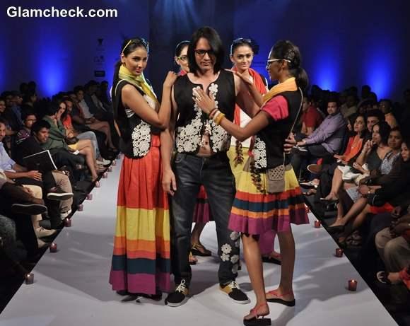 Ambrish Collection bangalore fashion week summer showers 2013