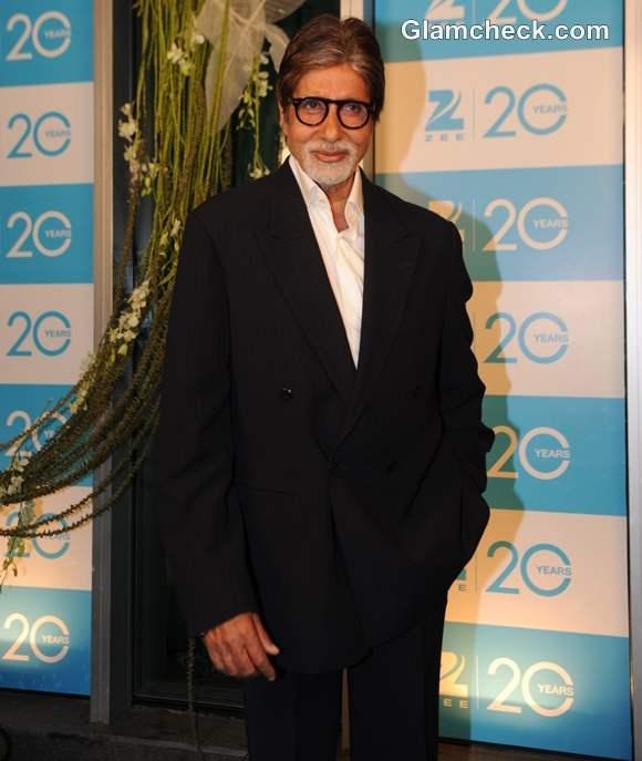 Amitabh Bachchan at TVs 20 Years Celebration Bash
