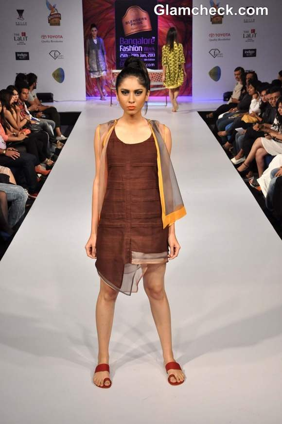 Bangalore Fashion Week 8th Edition Summer Showers 2013 Sayantan Sarkar