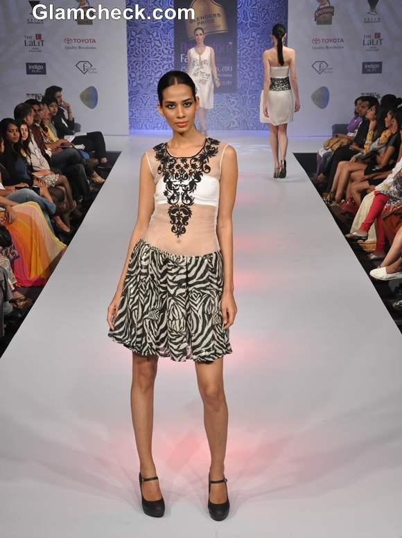 Bangalore fashion week summer showers 2013 Shwetha Bhargava Collection