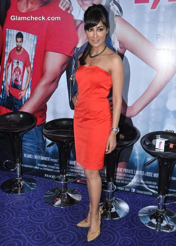 Chitrangada Singh Red Hot at I Me Aur Main Press Meet