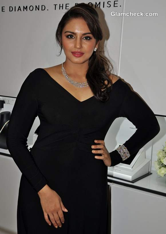 Diamond brand Forevermark jewelry range launched by Huma Qureshi