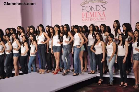 Femina Miss India 2013 contestants