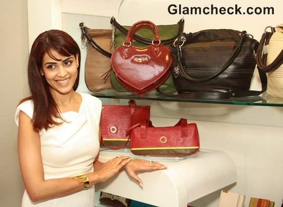 Genelia DSouza Launches Blue Blues Spring Giardino Collection In Gurgaon