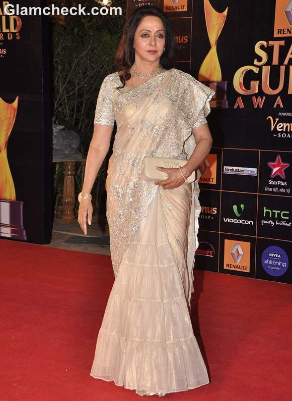 Hema Malini at Star Guild Awards 2013