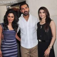 I Me Aur Main stars Promote Film in Mumbai