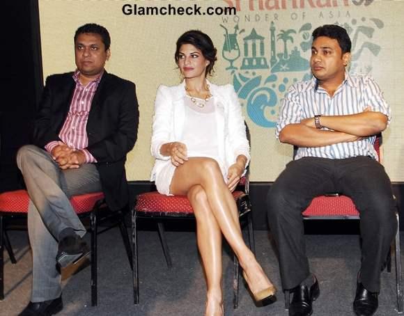 Jacqueline Fernandes Promotes tourism GET SRI LANKANED