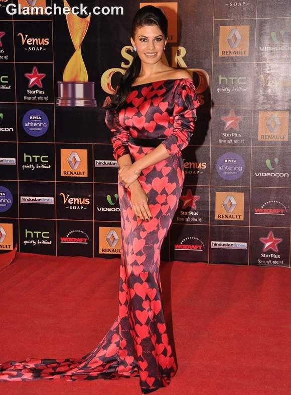 Jacqueline Fernandes at Star Guild Awards 2013
