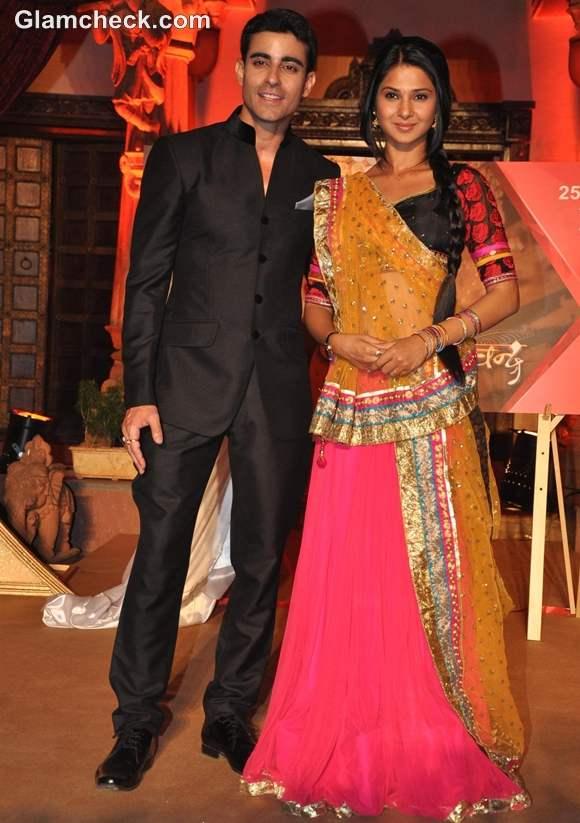 Jennifer Winget and Gautam Rode Saraswatichandra
