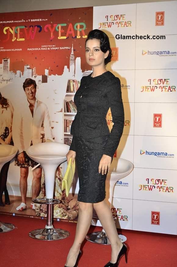 Kangana Ranaut I Love New Year Theatrical Trailer launch in Mumbai