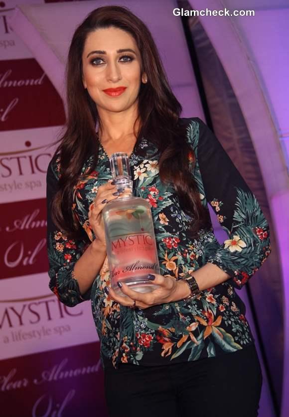 Karisma Kapoor at Mystic Almond Oil Launch