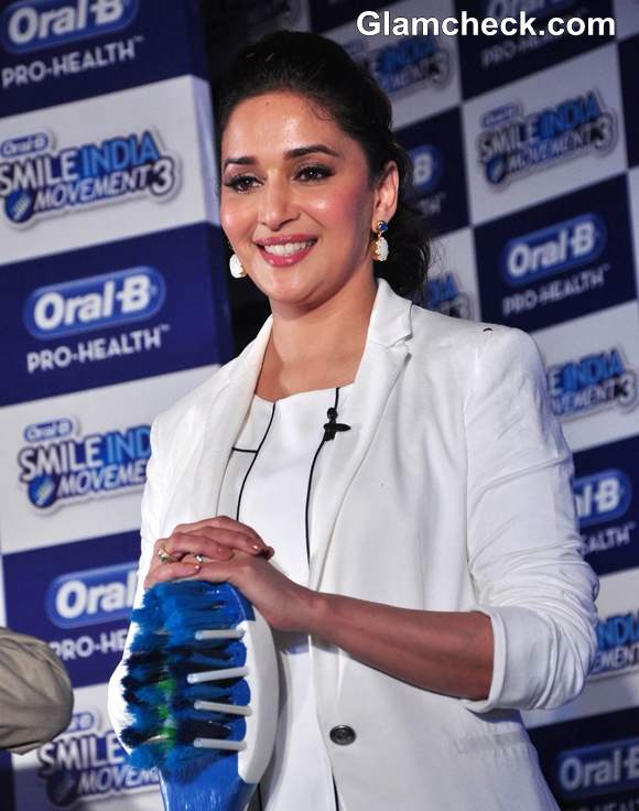 Madhuri Dixit At The Oral B Smile India Movement Launch