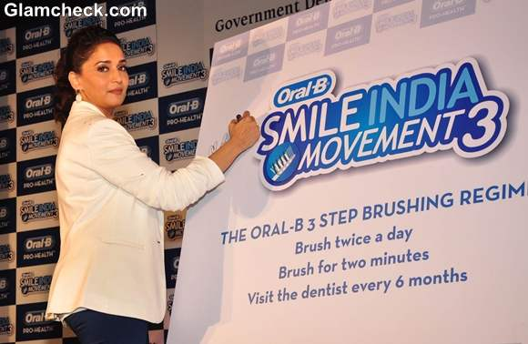 Madhuri Dixit The Oral B Smile India Movement Launch