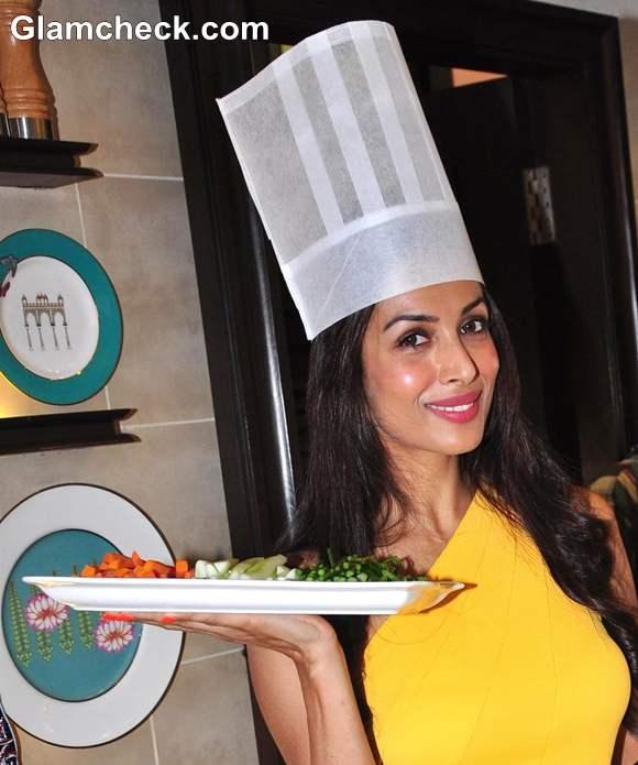 Malaika Arora Khan At The Launch Of Palate Culinary Studio In Mumbai
