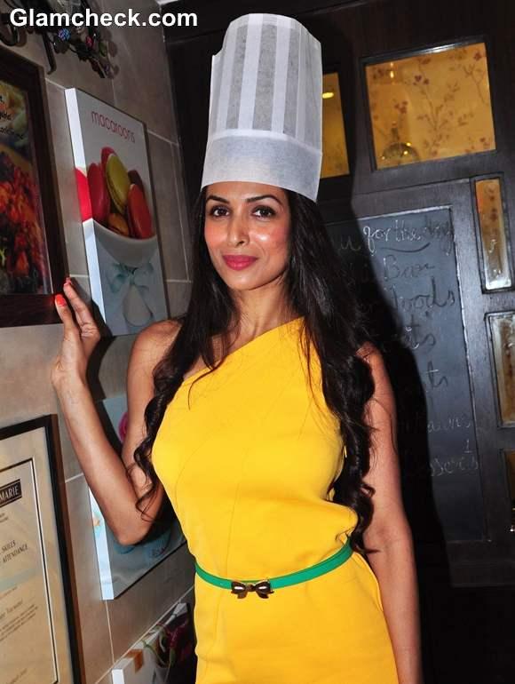 Malaika Arora Khan At The Launch Of Palate Culinary Studio