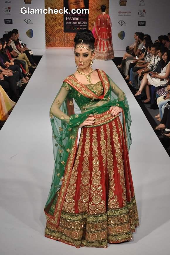 Neeru Emporio Collection bangalore fashion week summer showers 2013