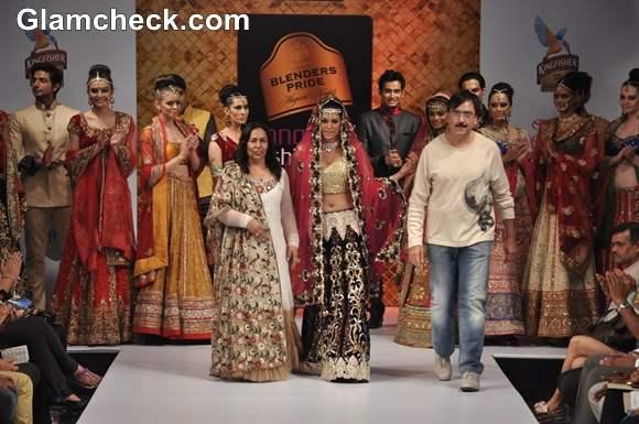 Neeru Emporio show bangalore fashion week summer showers 2013 Neerus Emporio Collection