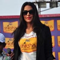 Neha Dhupia at The Walk For The Love Of Shiksha