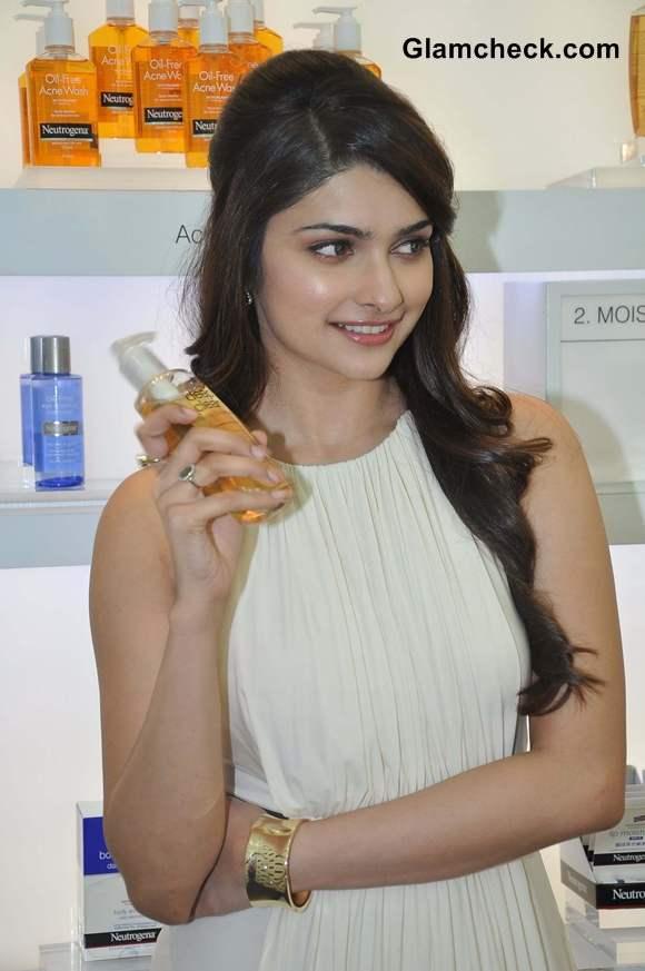 Neutrogena brand ambassador Prachi Desai