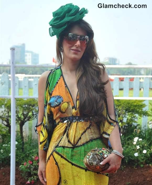 Pria Kataria Puri at Hello Claassic Derby Race 2013