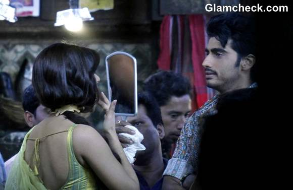 Priyanka Chopra Arjun Kapoor Shoot For Gunday