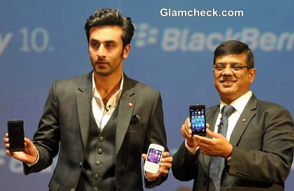 Ranbir Kapoor Launches Blackberry 2nd Most Expensive Phone India